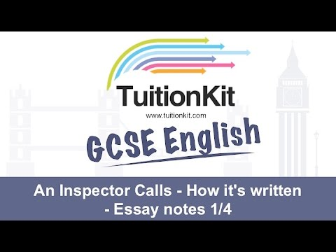 An inspector calls essay plan