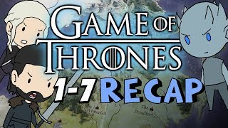 The ENTIRE Game of Thrones Storyline So Far.. (Seasons 1-7) - RECAP under 15 mins