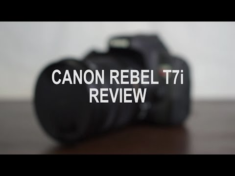 Canon Rebel T7i Review! | Adam Jay