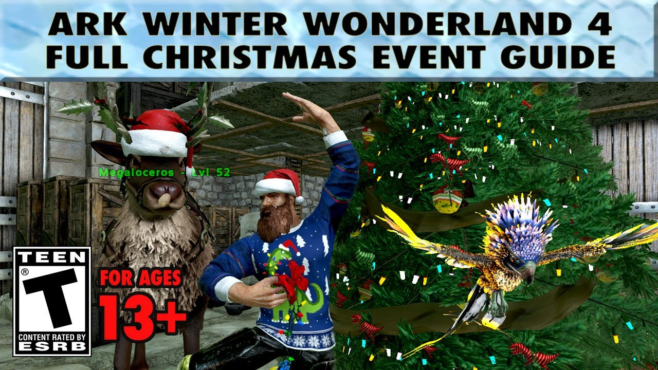 Ark Winter Wonderland 4   The Best Ark Christmas Event Guide   YouTube