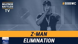 Z-Man from Australia - Men Elimination - 5th Beatbox Battle World Championship