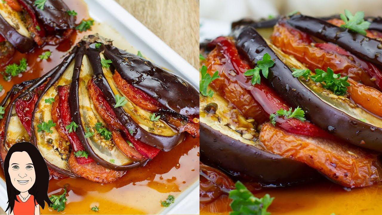 how to make eggplant in the oven