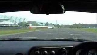 J'S Racing DC5 at Castle Combe