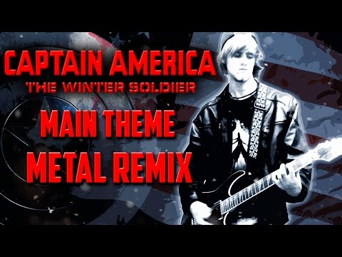 civil war theme guitar cover captain america civil doovi. Black Bedroom Furniture Sets. Home Design Ideas