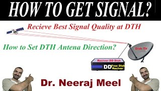 How to Set DTH Antenna Direction for Best Signal Quality