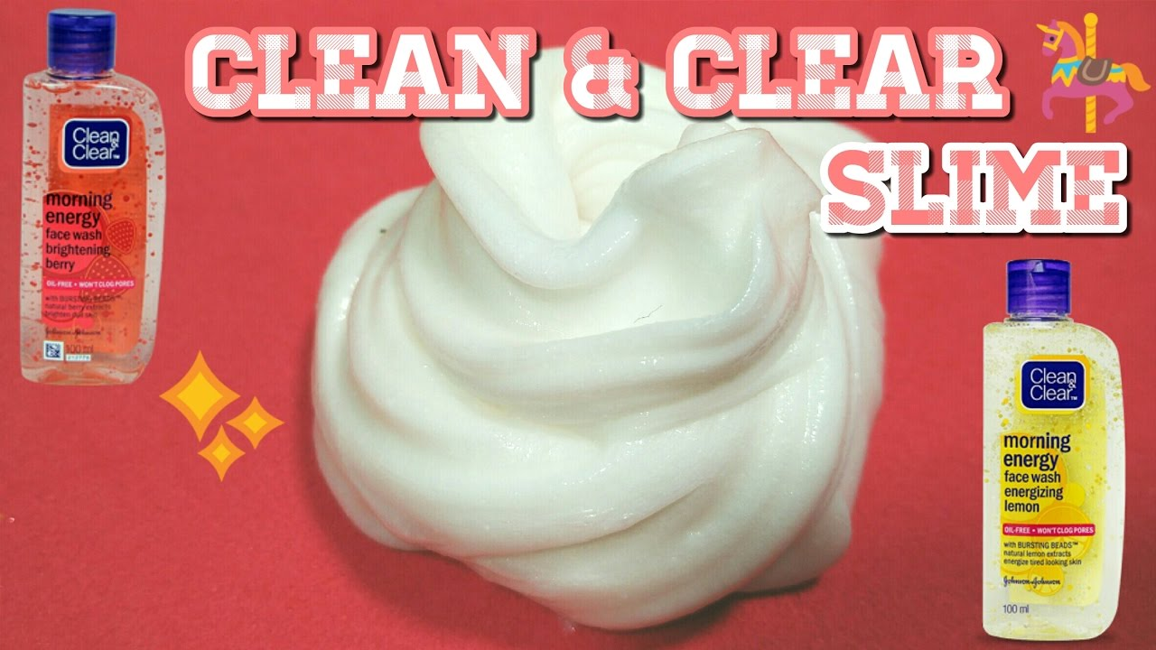 how to make clear slime without borax youtube