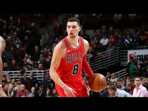 Zach LaVine Bulls Debut 14 Points vs Pistons! 2017-18 Season