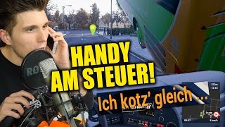 HILFE MEIN VATER RUFT AN! HANDY AM STEUER! ✪ FERNBUS SIMULATOR