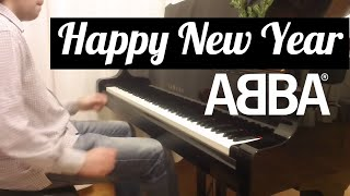 "ABBA - ""Happy New Year"". Piano cover by Lucky Piano Bar (Eugene Alexeev)"