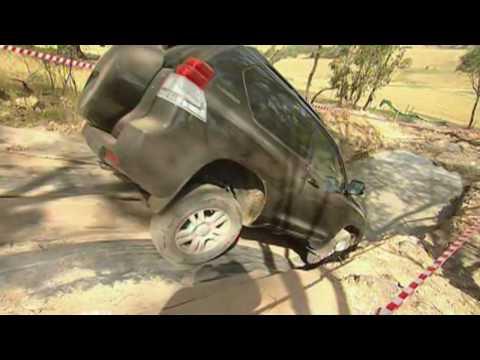 Toyota Landcruiser Prado 4WD Test Drive