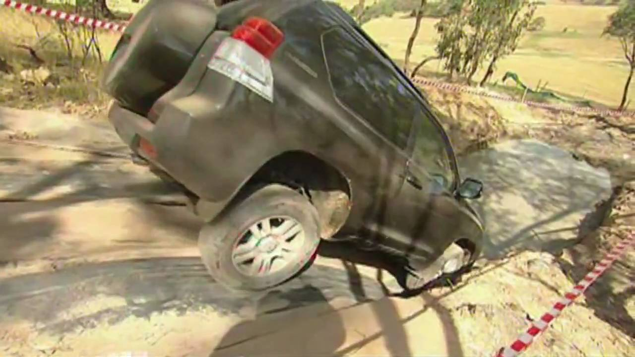 Toyota Landcruiser Prado 4wd Test Drive Youtube