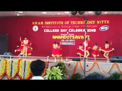 Kande parashivana dance performance by Nitte pharmacy students