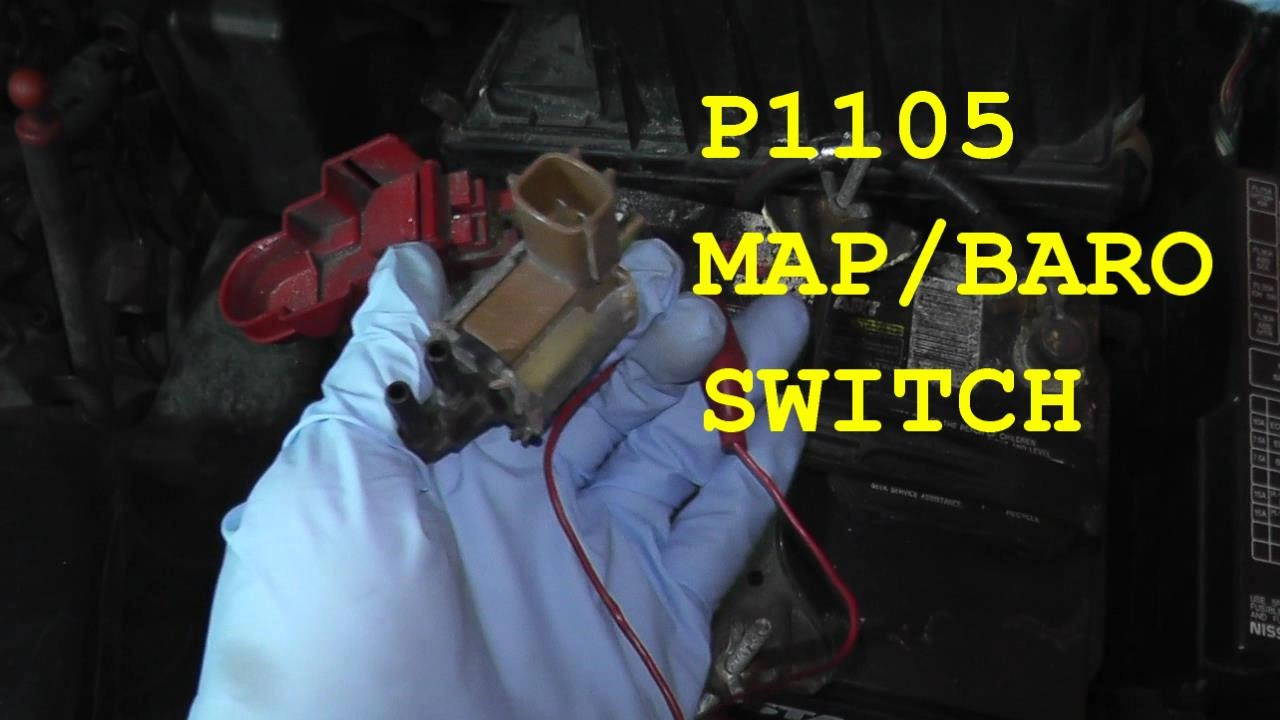 how to test and replace the map baro switch p1105 hd [ 1280 x 720 Pixel ]