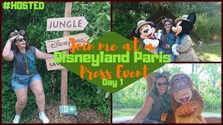 Disneyland Paris Vlogs 2019 | The Lion King & Jungle Festival Press Event Day 1 | KrispySmore