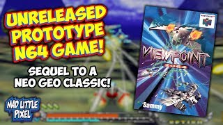 Viewpoint 2064 A Cancelled Sequel To The Neo Geo Classic Found & Dumped For The Nintendo 64!