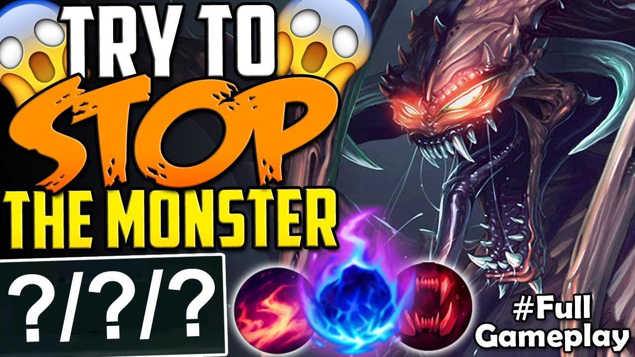 Try To Stop The Monster Impossible New Runes Chogath Vs