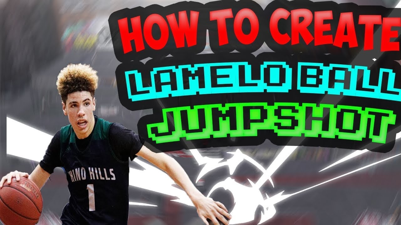 how to create lamelo ball
