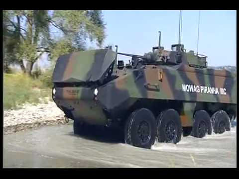 General Dynamics European Land Systems - Mowag Piranha IIIC Armoured Personnel Carrier 8x8 [480p]