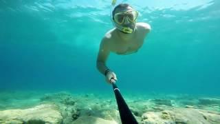 2016 Czarnogóra Snorkeling Buljarica