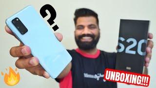 Samsung Galaxy S20 Unboxing & First Look - Chota Packet Bada Dhamaka