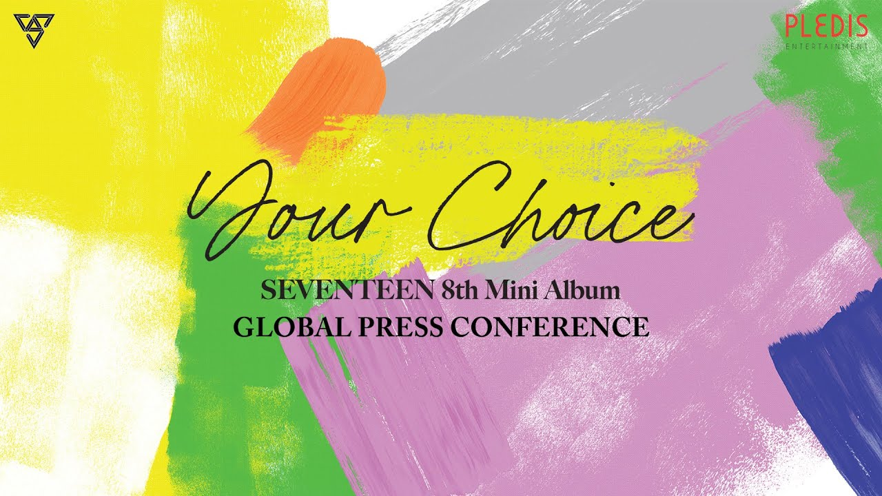 SEVENTEEN 8th Mini Album [Your Choice] GLOBAL PRESS CONFERENCE(+ENG)