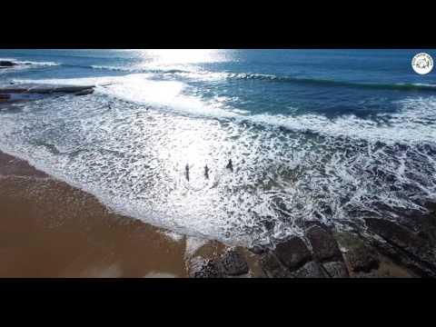 Torneio de Surf - Praia da Poça - Estoril - Portugal (by Drone)