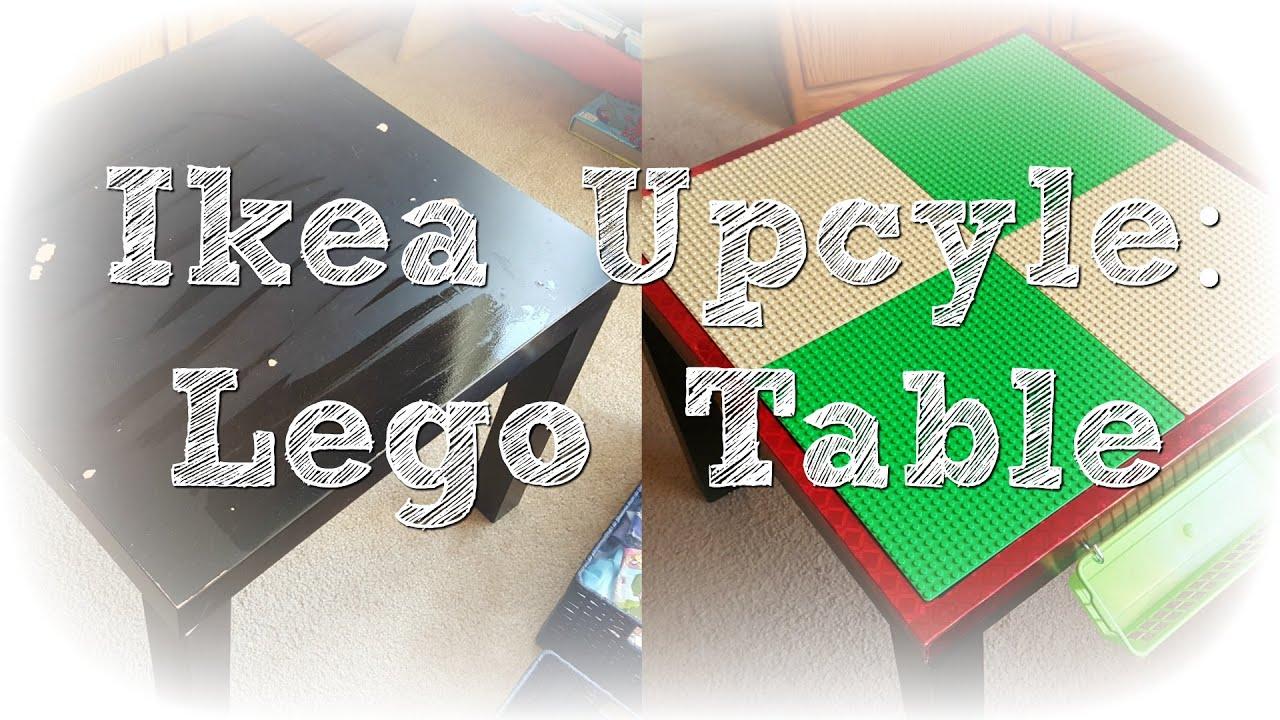 Diy Ikea Lego Table Upcycle Ytmm Collab Youtube