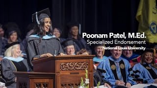 Repeat youtube video Commencement 2015 | Poonam Patel | Student Reflection