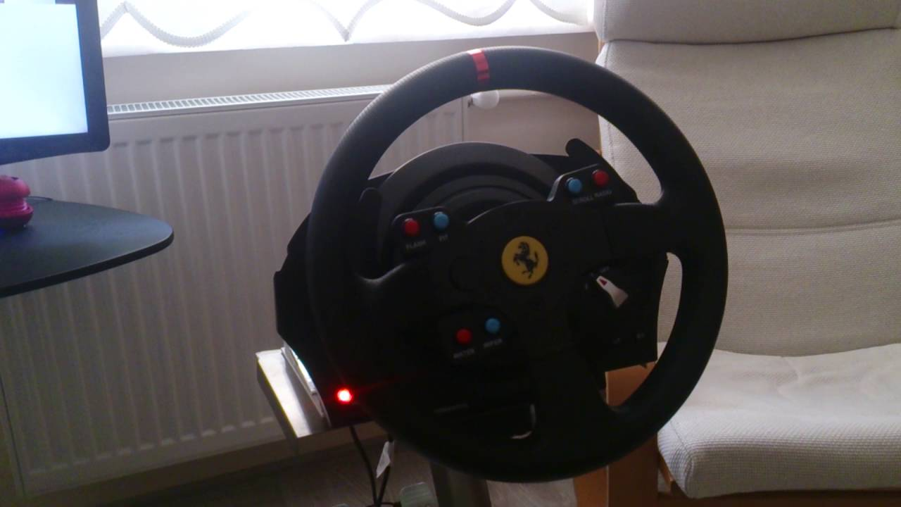 thrustmaster t300 ferrari gte problem youtube. Black Bedroom Furniture Sets. Home Design Ideas