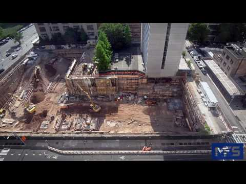 CUNY Academic Building Timelapse