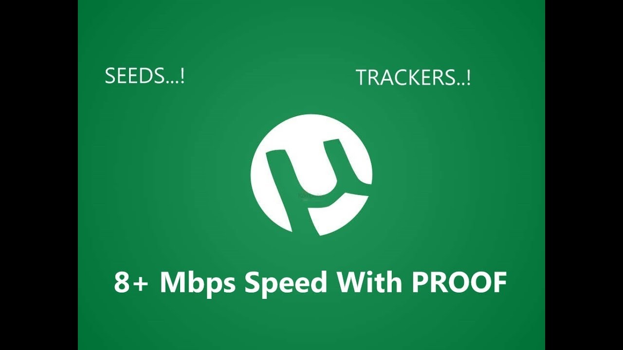 utorrent trackers for speed 2017