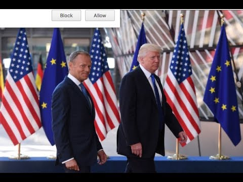 TRUMP TRASHES NATO MEMBERS!