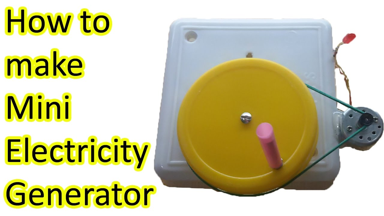 How To Make An Electric Generator To Power Your Home 28