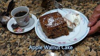 Italian Grandma Makes Apple Walnut Cake