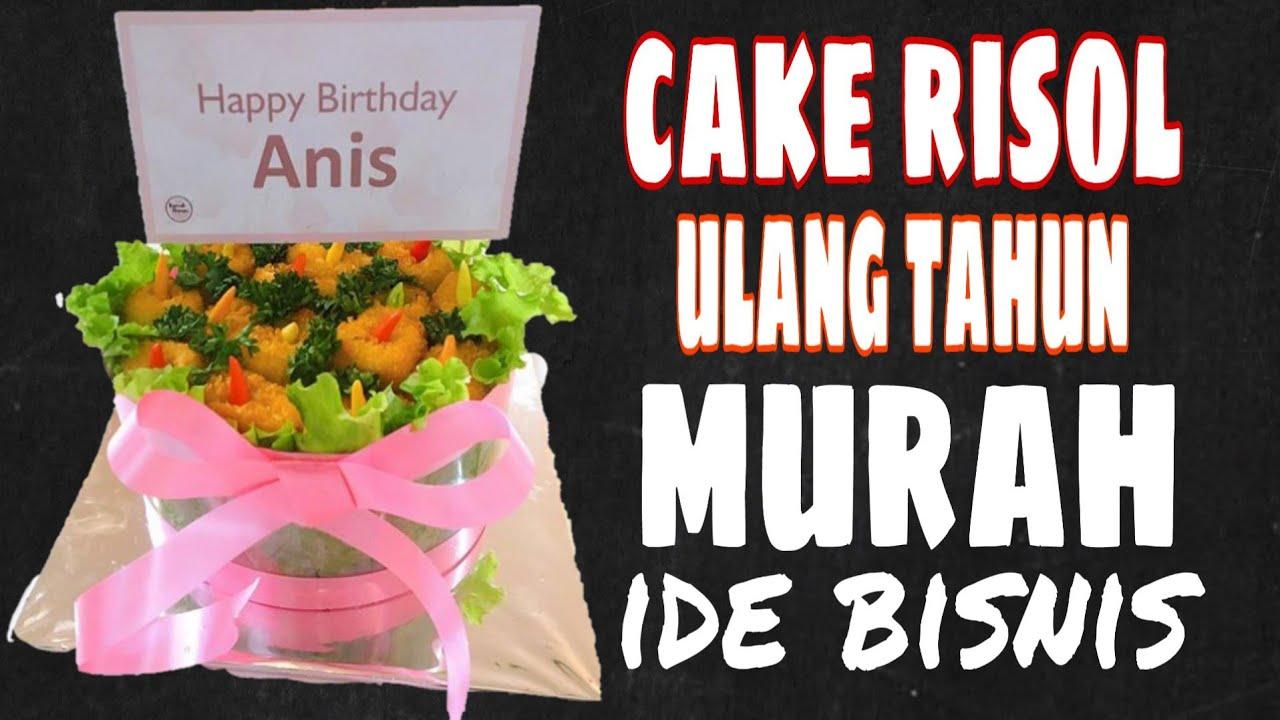 ide bisnis menghias kue risol untuk ulang tahun murah dan ...