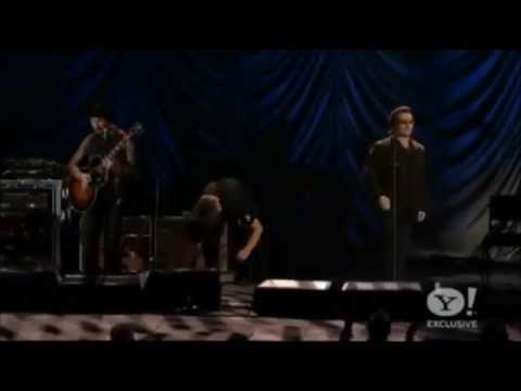 Bono and The Edge Support the Clinton Foundation ( 15/10/11 )