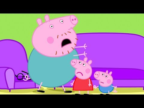 Peppa Pig in Hindi - Daddy Pig ka Chashma Kho Gaya - हिंदी Kahaniya - Hindi Cartoons for Kids