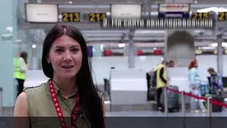 Как зарегистрироваться на рейс в аэропорту. PULKOVO VLOG S01 E03