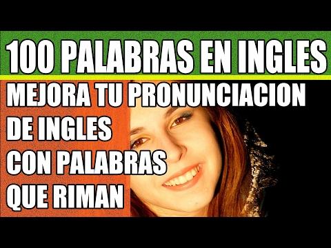 100 Palabras en Inglés: Mejora tu Pronunciación de Inglés con Palabras que Riman
