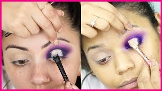 I tried following a Kaushal Beauty Makeup tutorial | Indian Skin || Miss Pink Shoes