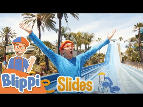 Blippi Visits Soak City Water Park   Educational Videos For Kids