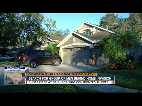 Search for group of men behind home invasion