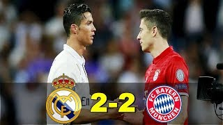 HASIL PERTANDINGAN REAL MADRID VS BAYERN MUNCHEN: SKOR 2 2