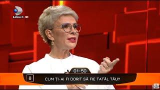 40 de intrebari cu Denise Rifai - Cum ti-ai fi dorit sa fie tatal tau? Teo, dezvaluiri senzationale!