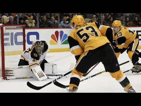NHL Highlights | Bruins vs Penguins  Jan. 19, 2020