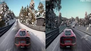 Project CARS 2 - PC vs PS4 Pro Comparison [1080P 60FPS]