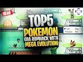 Top 5 Pokemon GBA Rom Hacks with Mega Evolution!