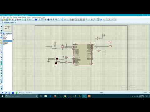 Interfacing Of Switch (Push-Button) With ATMEGA16 Using AVR Studio