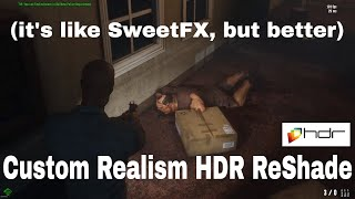 | HDR ReShade | Dead Frontier 2 | 1080p60fps Gameplay Comparison |