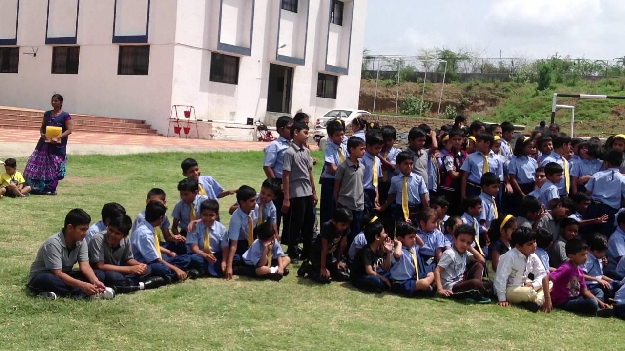 Podar International School Bhusawal Mock Fire Drill Building Evacuation 2015